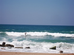 Still on that magical ride on a wave, Nahum Sokolow (Nahariya) photo