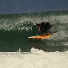 Tubo de derechas, Playa de Razo