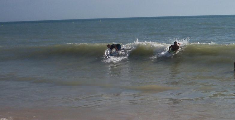 Bodyboard pico de costa ballena, Playa de Tres Piedras