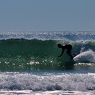 Fall Surfing at Gooch's Beach, Kennebunk Beach