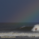 Rainbow - Hurricane Katia Saint Augustine Florida, A Street