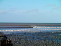 the rivermouth, Aberarth photo