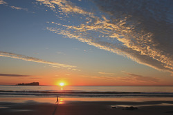 Serene sunrise at Mudjimba Island, Sunshine Coast, Mudjimba Beach photo