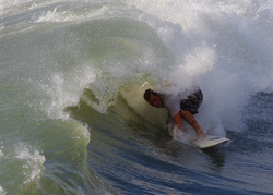 Hurricane Katia swell - Saint Augustine Florida, St Augustine Pier photo