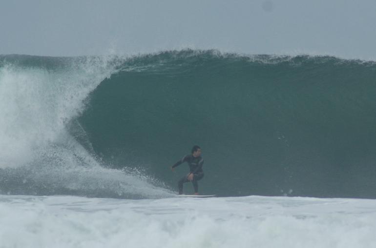 Nice Fall swell..., Ponto