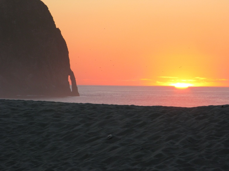 Sunset at Cape Kiwanda, Pacific City/Cape Kiwanda