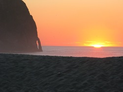 Sunset at Cape Kiwanda, Pacific City/Cape Kiwanda photo