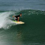 Sliding Out of the Tube, San Pancho (San Francisco)
