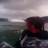 go pro, Playa de San Roman
