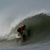 tight barrel, Puerto Sandino