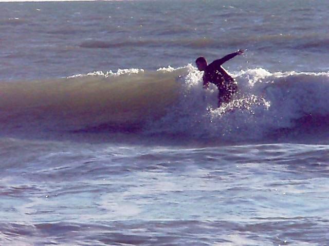 Josemari Alvarado en calitas, Playa de Tres Piedras