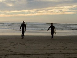 Indian Summer Surf, Ocean Beach photo