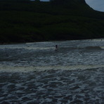 Surfing at Talofofo Bay, Talofofo/The Bay