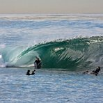 davidw on a slab., La Jolla Cove