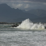 splash, Gordons Bay Harbour
