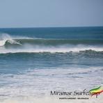 Longboard at Punta Miramar