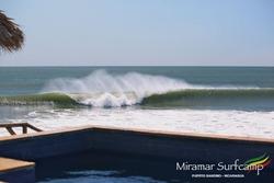 Punta Miramar empty outline photo