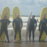 surf day, Ballycotton