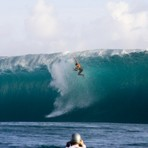 Wipeout at Teahupoo