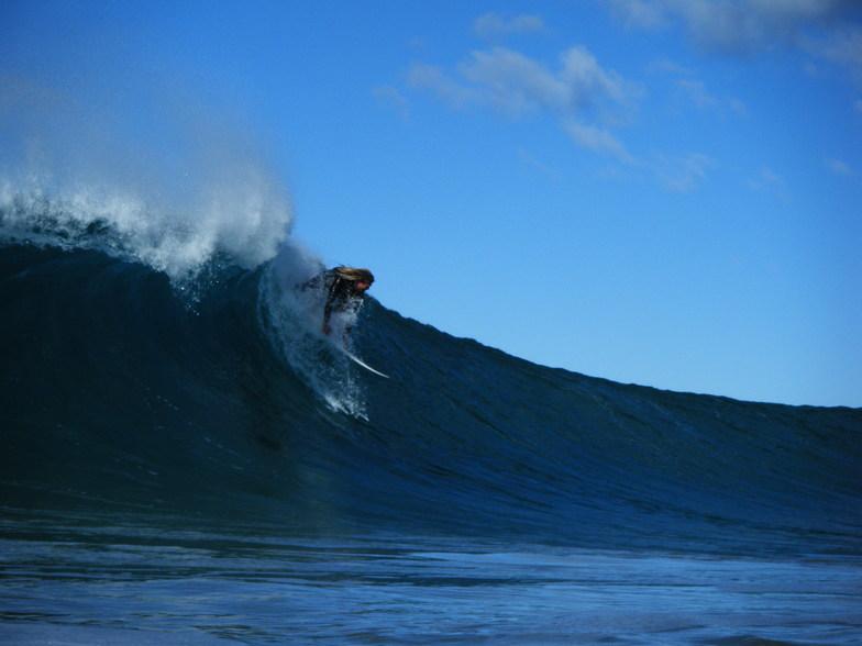 surfer at mystics