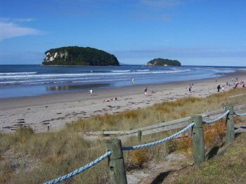 Whangamata Beach
