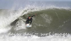 Back hand barrel, Fitzroy Beach photo