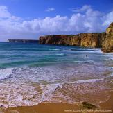 Praia do Beliche surf spot, Sagres, Algarve, Portugal