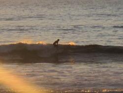 Conejo at sunset, Punta Conejo photo