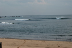 Typhoon Swell, Paishawan Beach photo