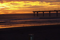 First signs of the new southeast swell at dawn ....., New Brighton Beach photo