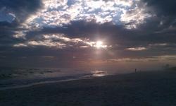Pensacola Beach Sunset photo