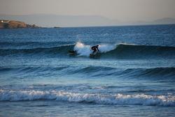 galicia glassy, Playa de Lanzada photo