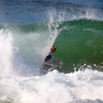 Grommet surfing Duranbah