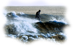unknown surfer, Mablethorpe photo