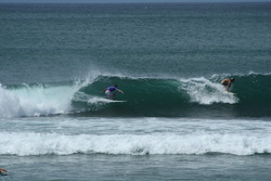 getting smoked by a frenchy, Bingin photo