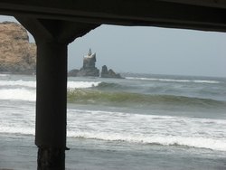 From the pier, Cerro Azul photo