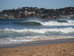 Barrels at Wambie, Wamberal Beach photo