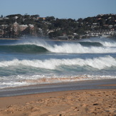 Barrels at Wambie, Wamberal Beach
