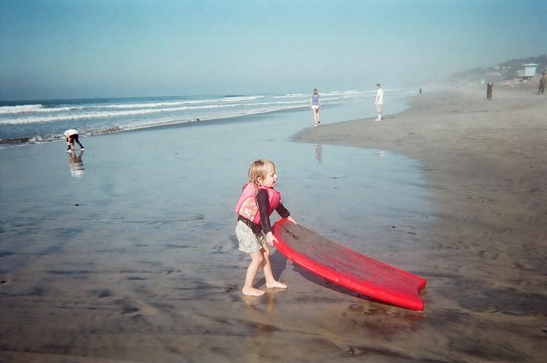 First Surf, Torrey Pines State Beach