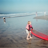 First Surf, Torrey Pines State Beach