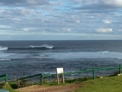 winter Margaret river, Surfers Point photo