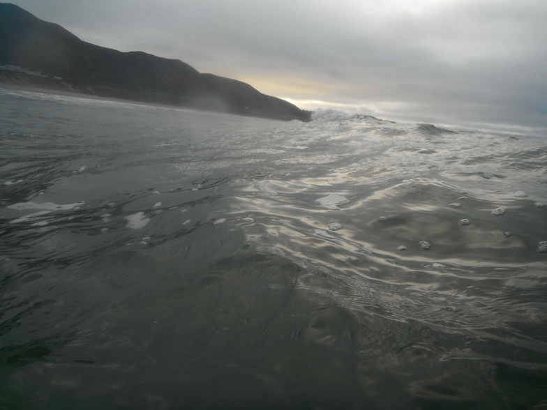 winter wave, Llangennith
