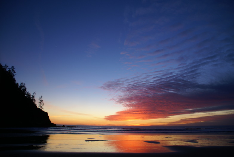 Winter Sunset, Oswald State Park/Short Sands