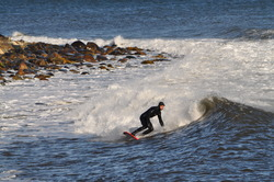 Winter Surf 2, Broad Cove photo