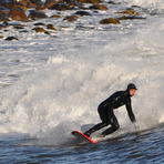 Winter Surf 2, Broad Cove
