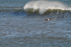 Winter Surf 3, Broad Cove photo