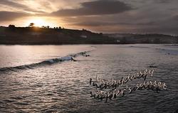 Inchydoney Surfer's Sunset photo