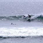 dropping in, Punta Burros