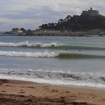 Like a lion in Marazion