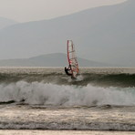 Windsurfer at Brandon Bay, Dingle